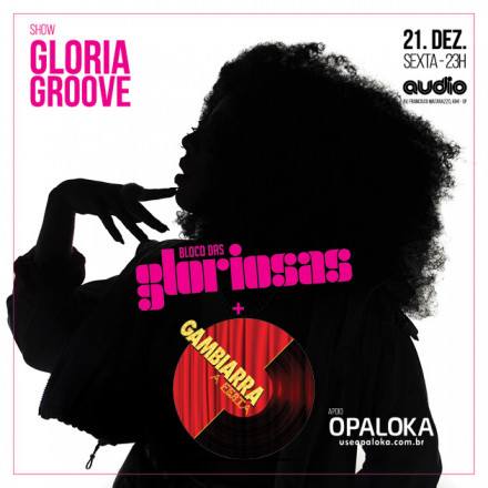 """Gloria Groove comanda esquenta do bloco da """"Gloriosa"""" em São Paulo"""