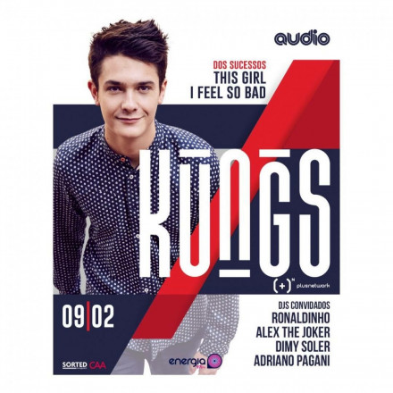 Famoso pelo hit 'This Girl', DJ Kungs faz show na Audio