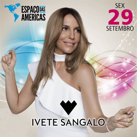 Ivete Sangalo anuncia única apresentação no Espaço das Américas