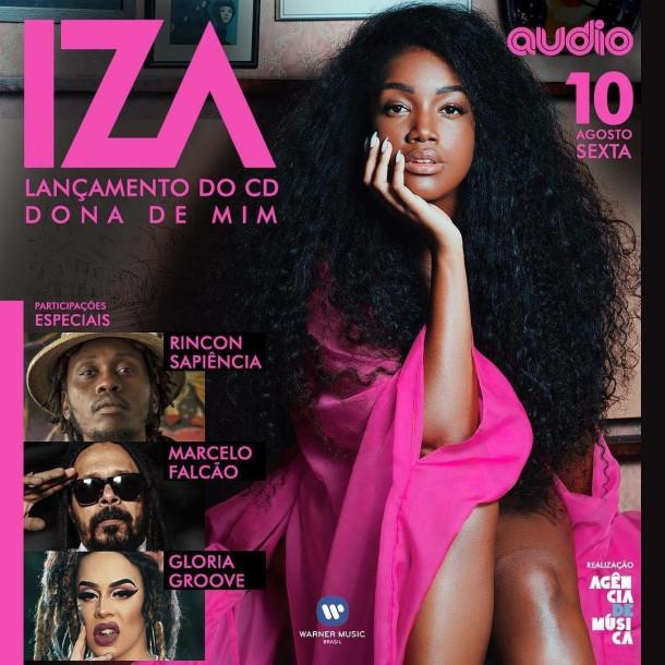 """Iza lança seu novo álbum """"Dona de Mim"""" na Audio"""