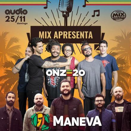 Festival Mix Apresenta traz atrações como Onze:20 e Maneva