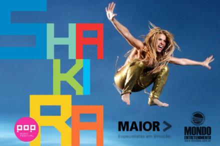 Pop Music Festival e Shakira