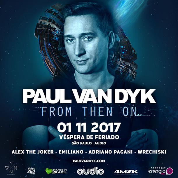Paul Van Dyk trará turné de seu novo álbum