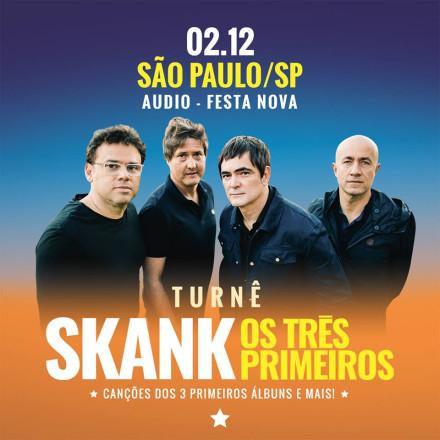 Festa da Nova Brasil FM recebe Skank e convidados na Audio